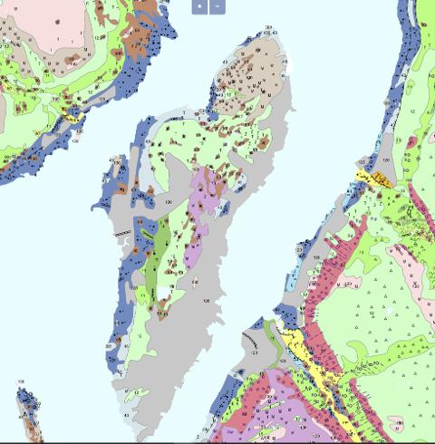 NOEN FAREOMRÅDER: Det er noen områder i Tromsø som er mer utsatt for ras og skred enn andre. Nederst i saken finner du oversikt over hva alle de ulike fargene betyr, og om jordsmonnet her er stabilt eller ikke.