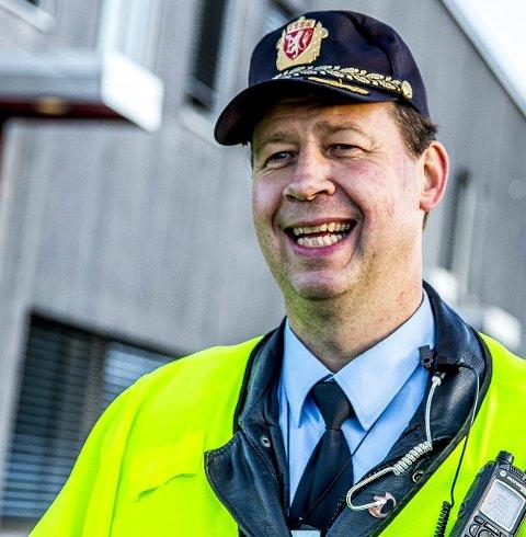 UP: Stein-Olaf Røberg Larsen er distriktsleder i UP.