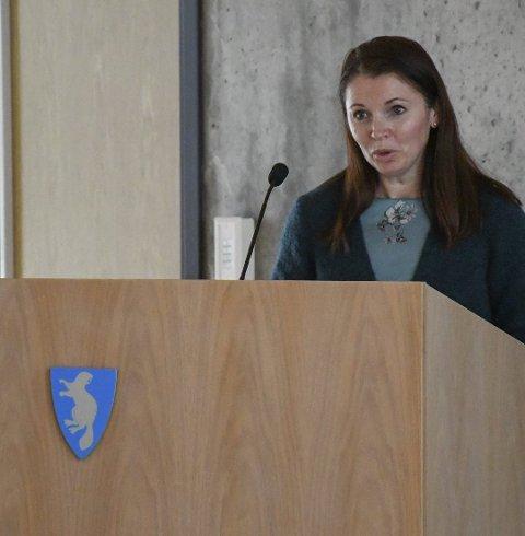 Christina Ødegård er en kvinnelig rådmann som nå får en ny tittel. Arkivfoto