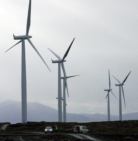 – Det er til havs vi virkelig kan få byttet ut den forurensende kullkraften med fornybar energi. Foto: NTB/Scanpix