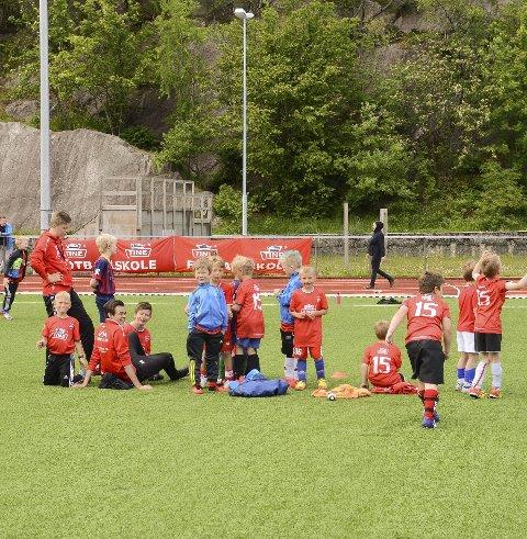 Fotball: TINE Fotballskole.Arkivfoto