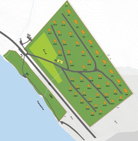 HYTTEFELT: Like i nærheten av der isveien over til Polmak er, planlegges det nå hyttefelt.