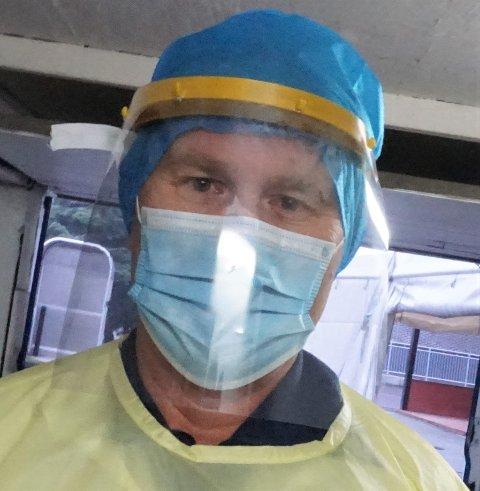 – EKSTRA SMITTSOM: Kommuneoverlege Ole Johan Bakke, sier den muterte virusvarianten gir grunn til bekymring,