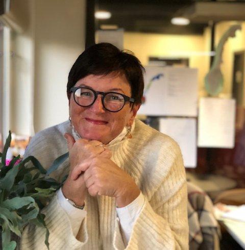 FIKK JOBBEN: Lin Marie Holvik (57) har fått jobben som rektor ved THVGS.