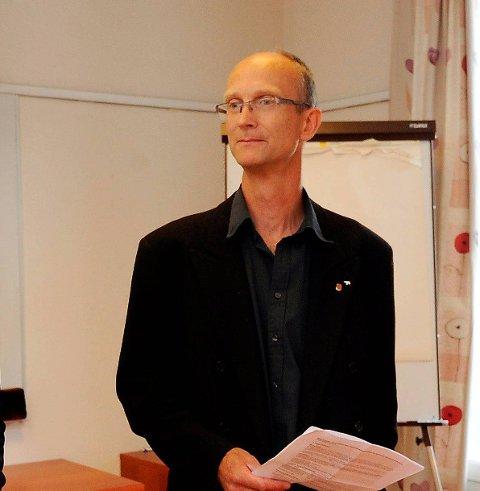 En sak: Olav Backe-Hansen har levert en sak om gebyrer