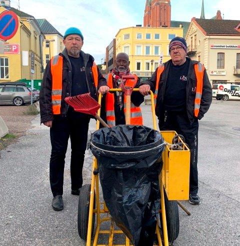 STØTTES: Miljøpatruljen i Skien er igjen i fare når kommunen vil spare penger. Men det er krefter i sving som jobber for å bevare tilbudet.