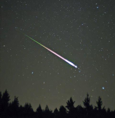 Ildkule: Ildkule fra en annen meteorsverm (Leonidene) i 2009.