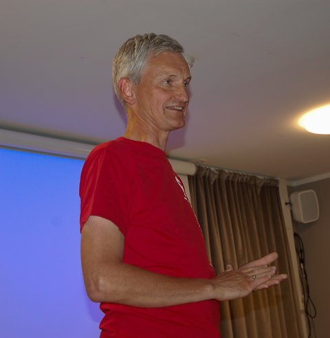 TURGÅER: Generalsekretær for Den Norske Turistforening, Nils Øveraas, fortalte om viktigheten av å ikke gjøre turismen i Nrge til en masseindustri.