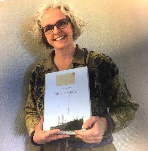TIL SETSKOG: Fredag 16. mars kommer forfatter Linda Stewart til Setskog.
