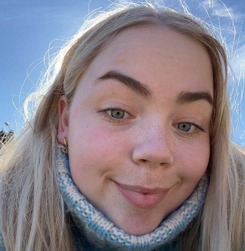 Sofie Dorthea Pedersen vil bli jordmor siden hun liker å jobbe med barn.