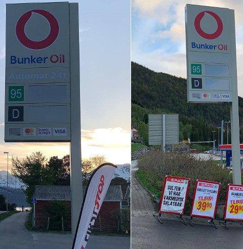 SKIFTE: Pumpene i Skibotn og på Lyngseidet  går fra YX til Bunker Oil og åpner i morgen og fredag.