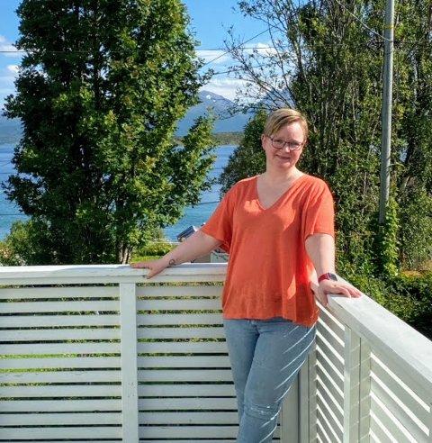 POSITIV: Marit Setran Johannessen reagerer på all negativiteten rundt Arctic race of Norway denne uken.