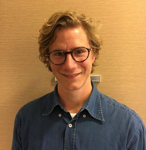 FASTLEGE: Casper Advocaat Endre er ansatt som ny fastlege på Revetal i Tønsberg kommune.
