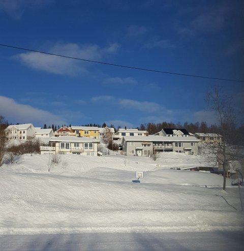 Økning: Boliger og eiendom er retaksert i kommunen. Her er nabolaget til Knut Wigstad fotografert.