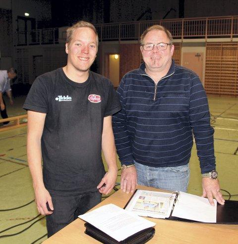 Står Sammen: Mats Erling Voll (t.v.) og Geir Michelsen.