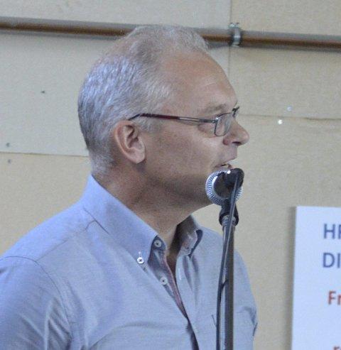 ØNSKER HELHET: HRA-styreleder Ole Petter Løbben.