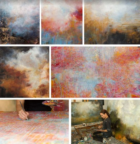 LØRDAG: Utstillingsåpning med kunstner Trudy Wiegand tilstede ved Hadeland Glassverk.