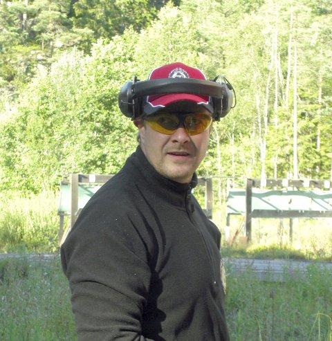 Bronse: Evert-Andre Jonassen tok bronse i NM.