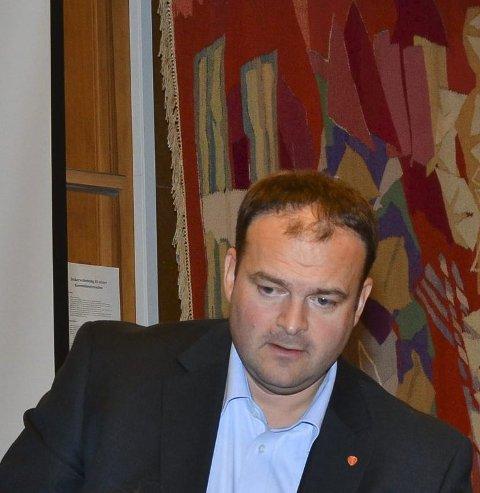 Søker forlik: Ordfører Roald Aga Haug.