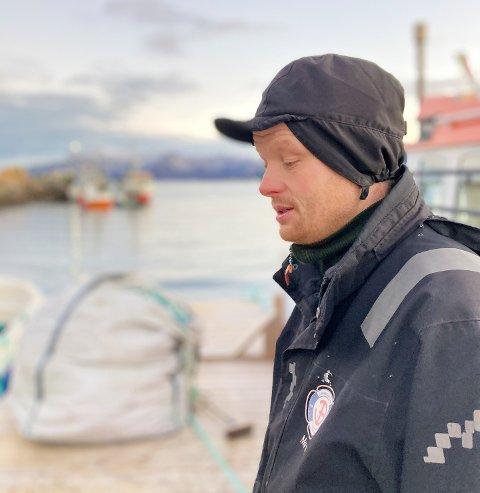 IKKE OVERRASKET: Fjord- og kystfisker Martin Kjølstad.