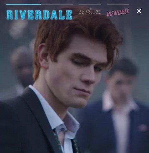 RIVERDALE: Puls anmelder mener serien er ganske spennende. (Skjermdump fra Netflix)