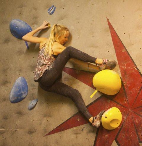 Vant: Regine Storå var best i veggen.Foto: Roar Kofoed