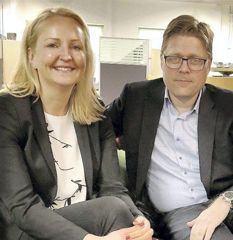 KOMMER OG GÅR: Kjersti Wangen overtar som K +-leder etter Petter Moseby.