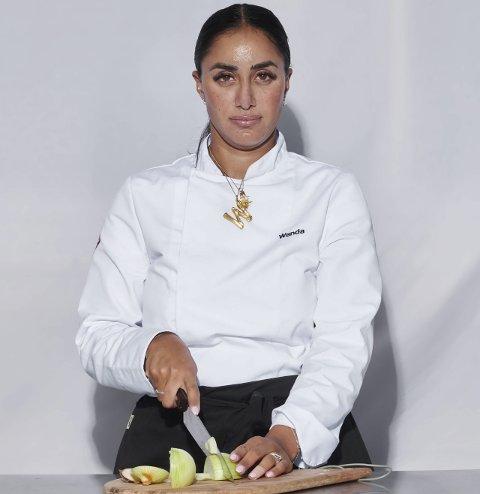 KLAR FOR CAMP: Wanda Mashadi er klar for årets sesong av Camp Kulinaris. Hun er også klar for en ny sesong av «Vita og Wanda» sammen med tvillingsøsteren Vita.