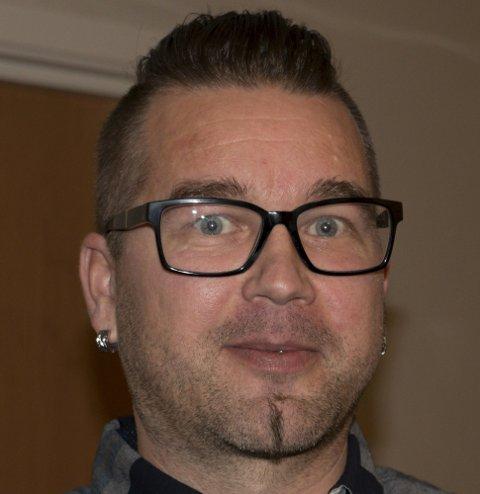 VARAORDFØRER: Tommy Smedtorp.