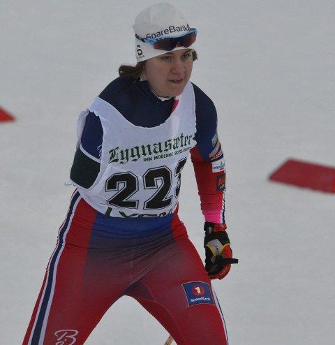 FRAMGANG: Anne Karen Olsen fra Svea skilag.