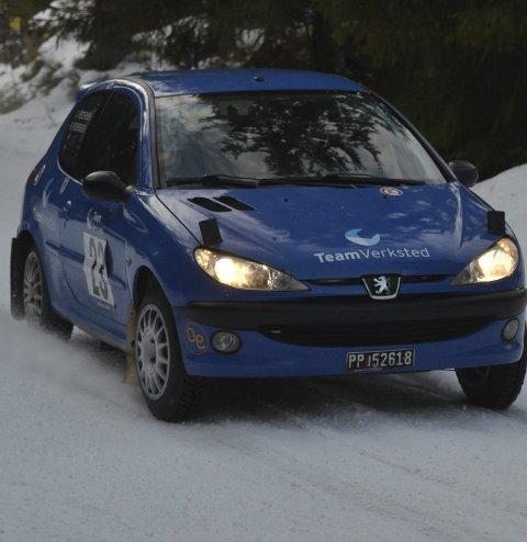 BRØT: Fjorårsvinner Lars Morten Berntsen fra NMK Hadeland brøt etter andre etappe.