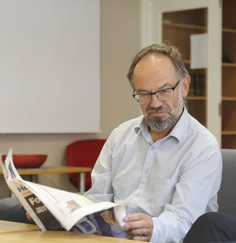 Magnus Aasbrenn: Leiar i Norsk Mållag. arkivfoto