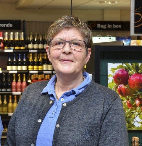 Butikksjef: Gro Langva, Vinmonopolet i Odda. Arkivfoto