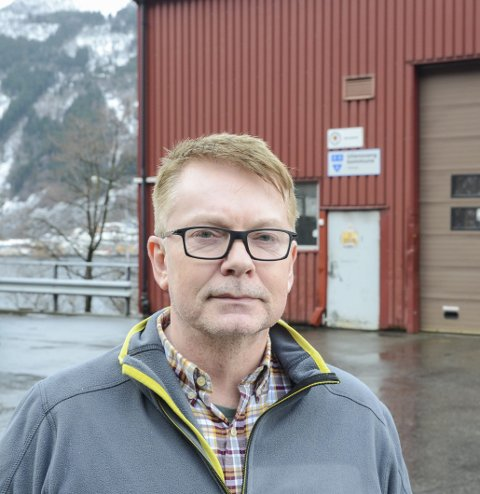 Jan Tore Knudsen: Verksemdleiar renovasjon. Arkivfoto: Ernst Olsen