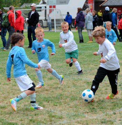 Dessverre avlyst: Eidfjord Småbanecup 2021. Arkivfoto: Kristin Eide