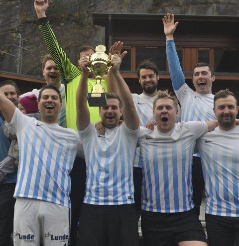 Endelig tilbake: Terje Storhaug-ligaen er tilbake etter snart to års pause. Her Gutteklubben, som vant i 2017. Arkivfoto