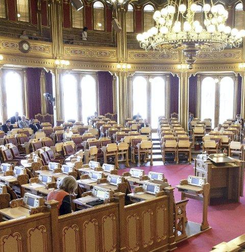 VOTERER: I dag voteres det over Hauan i Stortinget.