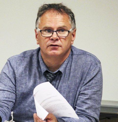Vigsler: Ordfører Bjørn Ivar Lamo.