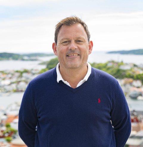 SØKER: Espen Johannessen, styreleder i Visit Kragerø.