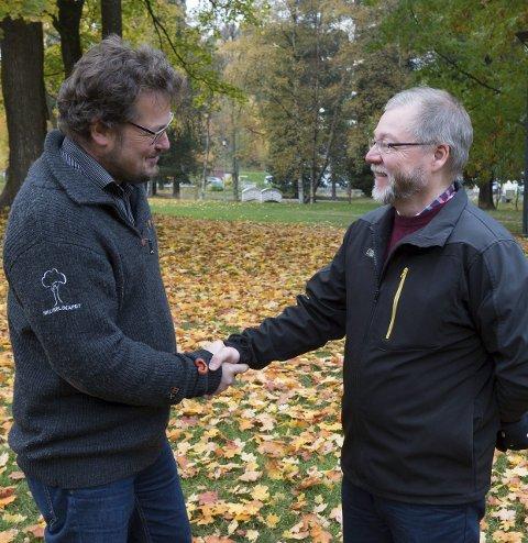 Posisjoner: Kjetil Bjørklund (t.v.) og Finn Olav Rolijordet blir henholdsvis utvalgsleder og varaordfører.