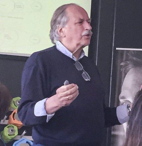 KUNNSKAPSRIK: Johan Kaggestad.