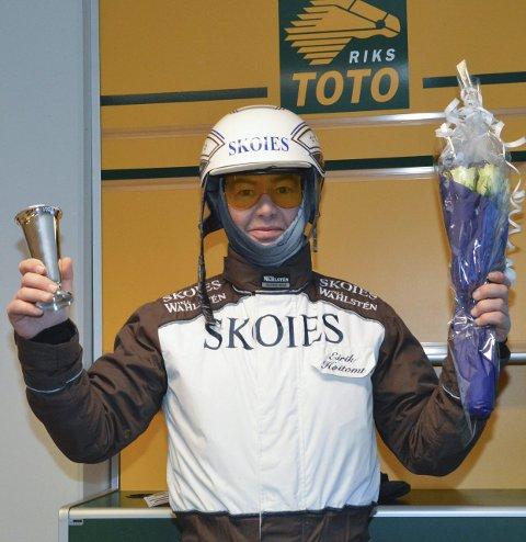 Champion: Eirik Høitomt ble champion i 2015. Som i 2014.