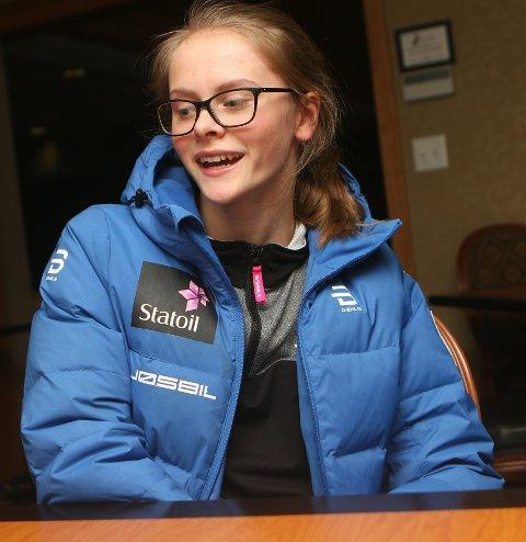 UFLAKS: Mathilde Myrhvold fra Vind er blitt syk og må inntil videre bo for seg selv på hotellet hvor de norske utøverne bor. Foto: Erik Borg