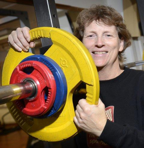 LEDER: Inger Blikra er i dag president i styrkeløftforbundet. Foto: Øyvind Bratt