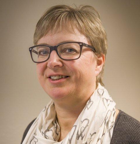 LEDER: Eva Norén Eriksen utgjør generalforsamlingen.
