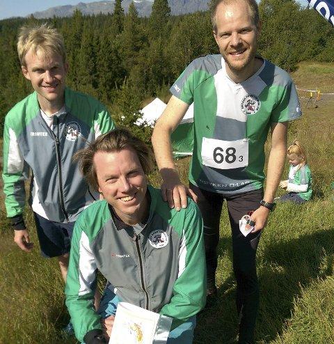 LAGET: Knut H. Rekaa, Henrik D. Ruud og Martin Bekkelund.