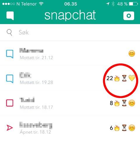 HVA BETYR DET? Timeglass-ikonet har dukket opp på Snapchat. Hva betyr det egentlig?