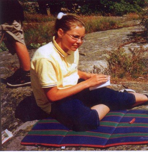 Arkivfoto av 12 år gamle Kristin Juel Johannessen som ble funnet drept i Hedrum i Larvik i 1999.