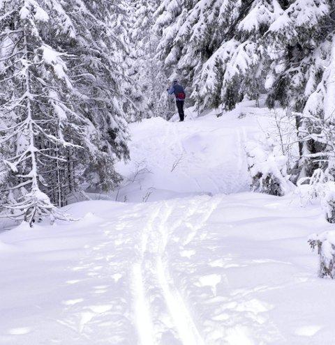 Vinterstemning: Romjula - slik den en gang var.Foto: Vidar Ruud / NTB scanpix
