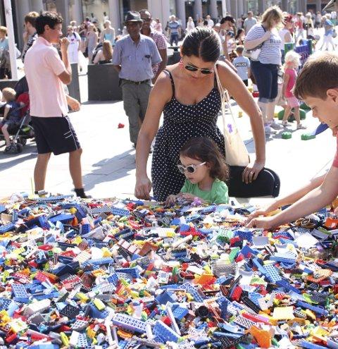 Tidenes største: Årets spillfestival skjer på USF. Alt som skjer på dagtid er gratis for barn og unge. Her fra tidligere år. ARKIVFOTO: BA